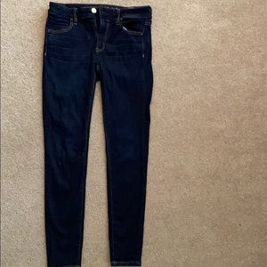 American Eagle Dark Denim Jeggings